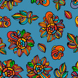 Colorful floral background,  wallpaper, pattern Royalty Free Stock Photo