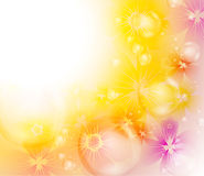 Colorful floral background Stock Photos