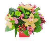 Colorful floral bouquet Stock Photos