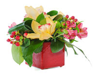 Colorful floral bouquet Stock Photography