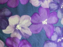 Colorful floral fabric texture Royalty Free Stock Images