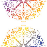Colorful Floral Ornament Royalty Free Stock Images