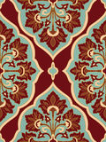 Colorful floral ornament. Colorful oriental ornament. Template for the shawl, carpet, textile and other surfaces Royalty Free Stock Photo