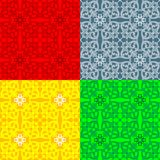 Colorful floral pattern  Royalty Free Stock Photo