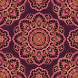 Colorful floral pattern. Royalty Free Stock Photos