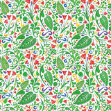 Colorful floral pattern Royalty Free Stock Image