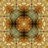 Colorful floral persian ornament for rug stock photo