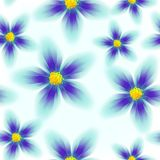 Colorful floral seamless pattern Royalty Free Stock Image