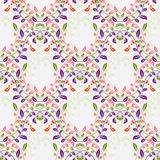 Colorful floral seamless pattern Royalty Free Stock Images