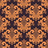 Colorful floral seamless pattern Stock Image