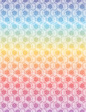 Colorful floral of Thai pattern background Royalty Free Stock Images