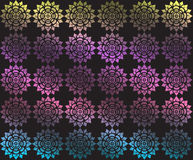 Colorful floral of Thai pattern background Royalty Free Stock Photography