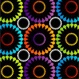 Colorful floral wallpaper for web use Royalty Free Stock Photos