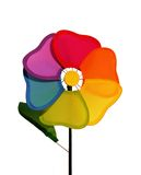 Colorful Flower. A photo of a colorful toy spinning flower Stock Photo