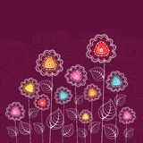 Colorful Flower Royalty Free Stock Photography