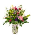 Colorful flower arrangement Stock Image