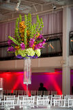Colorful flower arrangement stock image