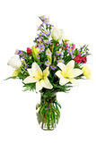 Colorful flower arrangement centerpiece Royalty Free Stock Photography