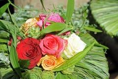 Colorful flower arrangement Stock Images