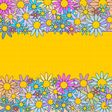 Colorful flower background Stock Photos