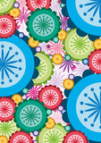 Colorful flower background Stock Photography