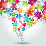 Colorful Flower Background. Royalty Free Stock Photos