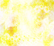 Colorful flower background made with color filters Royalty Free Stock Image