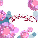 Colorful Flower background Royalty Free Stock Photo