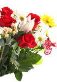 Colorful flower bouquet Stock Images
