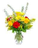Colorful flower bouquet arrangement Stock Image