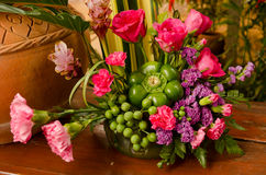 Colorful flower bouquet . Stock Images