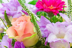 Colorful flower bouquet. Royalty Free Stock Photos