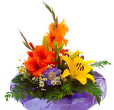 Colorful flower bouquet . Stock Photo