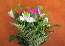 Colorful flower bouquet Stock Photo