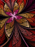 Colorful flower or butterfly Stock Image