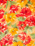 Colorful flower cloth Royalty Free Stock Photography