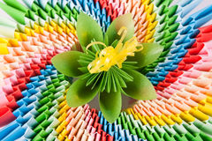 Colorful flower for kusudama Royalty Free Stock Image