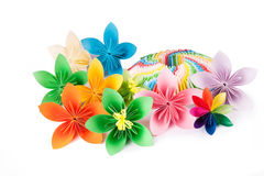Colorful flower for kusudama Royalty Free Stock Images