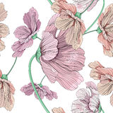 Colorful flower pattern. This is illustration of flower pattern Royalty Free Stock Photo