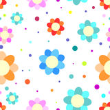 Colorful flower texture Royalty Free Stock Photo