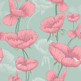 Colorful flower vector. This is vector of flower pattern seamless Stock Images
