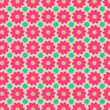 Colorful Flower Vector Pattern Royalty Free Stock Photography