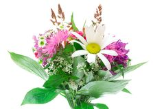 Colorful flowers bouquet Stock Photos