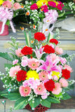 Colorful flowers bouquet. For celebration Royalty Free Stock Photography