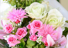 Colorful Flowers Bouquet background beautiful flowers Stock Image