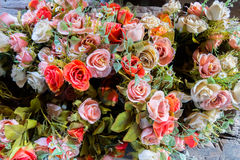 Colorful flowers bouquet royalty free stock images