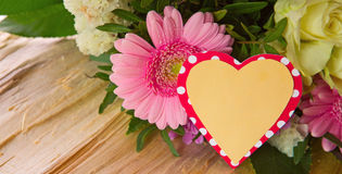 Colorful flowers bouquet. Royalty Free Stock Photo