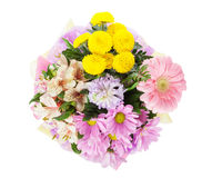 Colorful flowers bouquet Royalty Free Stock Photography