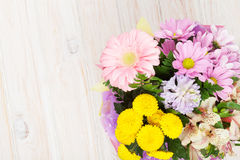 Colorful flowers bouquet Royalty Free Stock Image