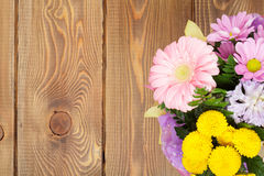 Colorful flowers bouquet Royalty Free Stock Photos